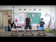 Bouge en classe avec Jeunes en santé #11 Zumba, Coaching, Brain Gym, Brain Breaks, Teaching French, Exercise For Kids, Just Dance, Classroom, Activities