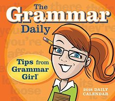 The Grammar Daily: Tips From Grammar Girl 2018 Boxed/Dail...