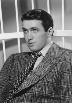 1936.  James Stewart.  Great plaid jacket.  Interesting combination of patterns with the jacket and tie.