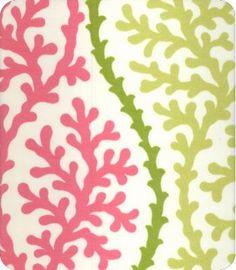 Tablecloth option 4: ODL Coral Splendor $13/yd