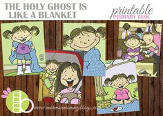 Mormon Mommy Printables: The Holy Ghost is Like a Blanket Printable Primary Talk