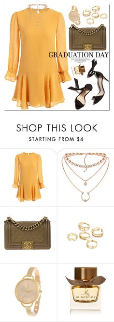 """""""Graduation Day Style"""" by oshint ❤ liked on Polyvore featuring Chanel and Burberry"""