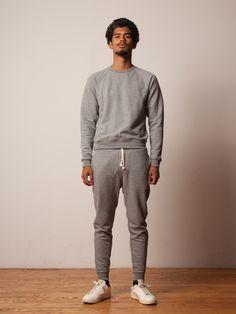 JOHN ELLIOTT - Ebisu Sweatpants -$146.00 Mens Joggers Sweatpants, Famous Brands, Stylish Men, Uniqlo, Men's Fashion, Zara, Normcore, Slim, Fitness