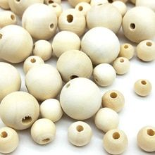 DIY Cheap Fashion Hot Beads Natural Round Loose Wood Beads for Jewelry Making Bracelet Necklace Accessories(China) Diy Necklace Bracelet, Bracelet Making, Crystal Uses, Large Hole Beads, Cheap Beads, Beaded Skull, Handmade Beaded Jewelry, Jewelry Making Beads, Cheap Fashion