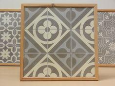 Handmade encaustic tiles, 15x15 cm format. 1555 June.  Brochure available.
