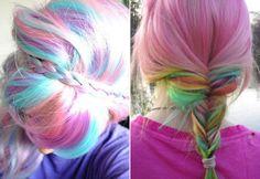 Tendência: cabelos em cores candy!