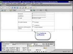 7  Como crear formulario I en Dreamweaver