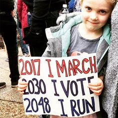 Mighty Girls Rise Up At Women's Marches Worldwide – Full Moon Lane – climate change protest Protest Posters, Protest Signs, March Signs, Teachers Strike, Mighty Girl, Smash The Patriarchy, Who Runs The World, Pro Choice, Parenting