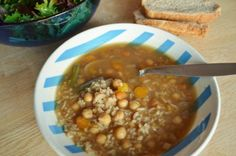 Chickpea and Rice Soup by Joann MacDonald
