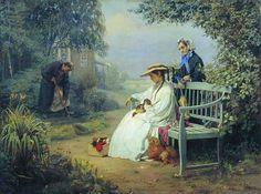 «Похороны собаки», (1871). Корзухин   Алексей   Иванович   (1835-1894)
