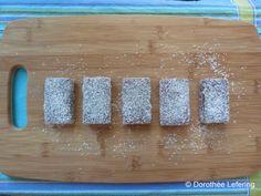 Australian recipe: Lamingtons. Yum