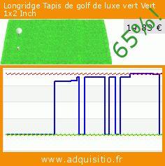 Longridge Tapis de golf de luxe vert Vert 1x2 Inch (Sport). Réduction de 65%! Prix actuel 19,83 €, l'ancien prix était de 57,00 €. https://www.adquisitio.fr/longridge/tapis-golf-luxe-vert-vert-0