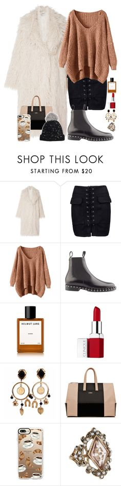 """""""Без названия #358"""" by arina-omelchenko ❤ liked on Polyvore featuring Missoni, WithChic, Valentino, Helmut Lang, Clinique, Dolce&Gabbana, La Perla, Casetify, Accessorize and House of Lafayette"""