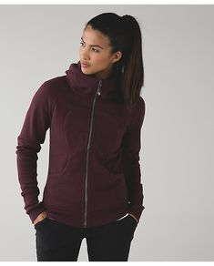 Lululemon Bordeaux Terry Scuba III