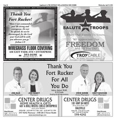 Wiregrass Floor - Fort Rucker Appreciation - Page A38 - The Southeast Sun: Eedition