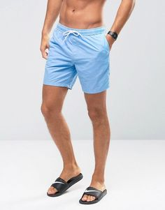 3e8a1f57e5 Discover Fashion Online Asos, Swim Shorts, Swim Trunks, Bleu, Swimming,  Swimwear
