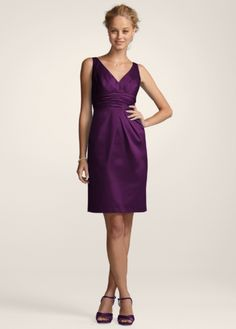 ae8b858a637 they have these on sale at davids bridal right now Grey Bridesmaid Dresses