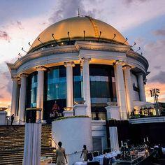 Bangkok | Unser Aufenthalt im lebua at State Tower Hotels In Bangkok, Open Air, Das Hotel, Taj Mahal, Bucket, Tower, Clouds, Building, Singapore