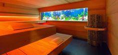 Sauna mit Aquarium bauen lassen