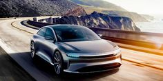Faraday Future's FF91 electric, self-driving car