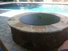 Pittopper - One Piece Metal Fire Pit Cover