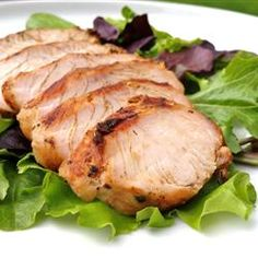 Marinated turkey  Original recipe makes 12 servingsChange Servings  2 cloves garlic, peeled and minced  1 tablespoon finely chopped...