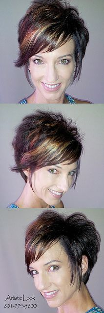 My Awesome Cute Short Hair | http://impressiveshorthairstyles.blogspot.com