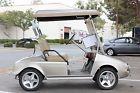 Club Car golf cart with BMW body