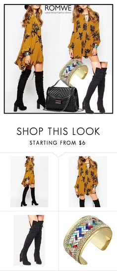 """""""Romwe - X/5"""" by dzemila-c ❤ liked on Polyvore featuring romwe"""