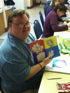 Art projects for adults with learning disabilities great for Group craft ideas for adults