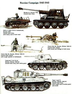 German vehicles in Russia