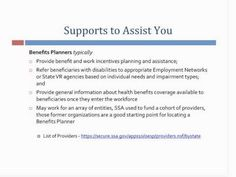 Social Security benefits and working with a disability