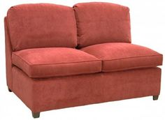 Roth Sectional Armless Full Sleeper Sofa Carolina Chair