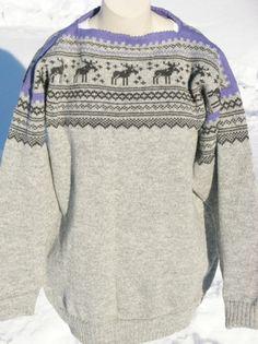 Strikka ullgenser str fin til elg-jegeren! Cardigans, Sweaters, Folklore, Jumpers, Knits, 50th, Bell Sleeve Top, Traditional, Knitting