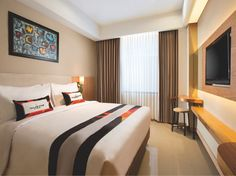 Yogyakarta Yellow Star Ambarukmo Hotel Indonesia, Asia Yellow Star Ambarukmo Hotel is conveniently located in the popular Kota Baru area. The hotel offers a high standard of service and amenities to suit the individual needs of all travelers. Service-minded staff will welcome and guide you at the Yellow Star Ambarukmo Hotel. Guestrooms are designed to provide an optimal level of comfort with welcoming decor and some offering convenient amenities like internet access – wireless...