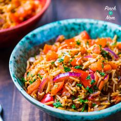 I'd choose and Indian takeaway over a Chinese any day of the week. It got me thinking… why not have a Slimming World friendly Syn Free Indian Fried Rice? Indian Food Recipes, New Recipes, Cooking Recipes, Healthy Recipes, Ethnic Recipes, Savoury Recipes, Rice Recipes, Yummy Recipes, Cooking Tips