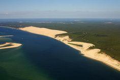 Dune de Pyla, bassin d'Arcachon et océan - Le blog de breizh