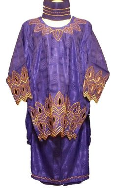 Cool Great Traditional African Clothing Women Skirt Suit Outfit Dark Blue Gold Plus Size Traditional African Clothing, Blue Gold, Dark Blue, Straight Skirt, Cotton Skirt, Skirt Suit, Skirt Fashion, African Fashion, African Skirt