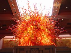 Temple of the Sun by Chihuly- installed at Atlantis, Paradise Island, Bahamas