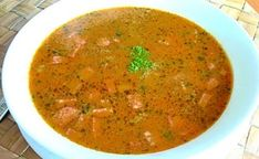 Frankfurtská  polievka – taká dobrá polievka nielen pre chlapa Salsa, Mario, Punk, Ethnic Recipes, Food, Essen, Salsa Music, Meals, Punk Rock