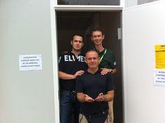 Siamo noi, siamo noi, i campioni del networking siamo noooi @Elmec people @work - Europei di canottaggio