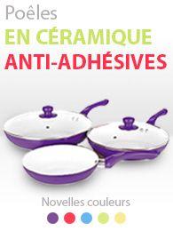 Poêles en céramique anti-adhésives