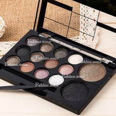 14 Colors Makeup Eye Shadow Palette Smoky Nude Eyeshadow Warm Shimmer  Neutral 5ea5328affb57