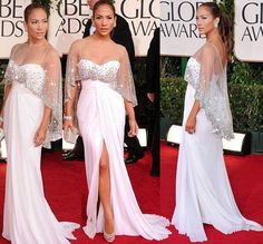 Elegant Long Party Evening Dress White Formal A Line Prom Gown Women See Though Red Carpet Dress 2015 Spring