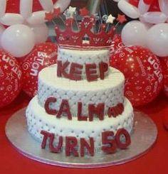 50th birthday cake for my mom!!! <3