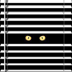 어디선가 항상 지켜보는 눈. . . . #일러스트레이션 #일러스트 #드로잉 #그림 #블라인드 #창문 #고양이 #검은고양이 #눈 #어둠 #아트웍 #디지털아트 #illustraion #illustree #drawing #painting #blind #window #cat #cateye #black #dark #picame #gfxmod #graphicroozane #vector #graphicdesign