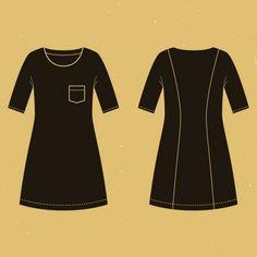Coudre votre premier vêtement : 10 patrons pour les débutant(e)s | LOUISE Extra Fabric, Modern Fabric, Princess Seam, Pattern Paper, Dressmaking, Chambray, Sewing Patterns, Chiffon, Plaid