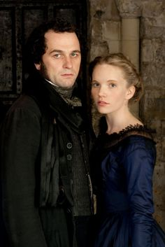 Matthew Rhys and Tamzin Merchant in The Mystery of Edwin Drood (2012)