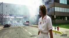 Hospital's Explosion by The Joker, this is a famous quote as its from the Batman movie which is very famous. The example of Onomatopoeia is at the start around 3 seconds in where The Joker imitates the sound of the explosion before it happens.