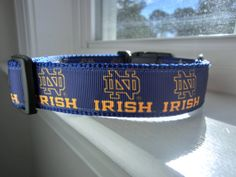 Notre Dame Inspired.1 Wide. Large. Dog Collar. by TandECollarShop, $12.00